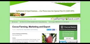 royalfarmproduce.com cocoa-farming-marketing-and-export