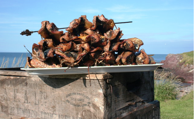 Fish export in Africa is very profitable, using smokehouse to preserve it